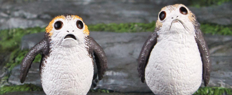 Hasbro Reveals 'Star Wars: The Last Jedi' Black Series Porgs!