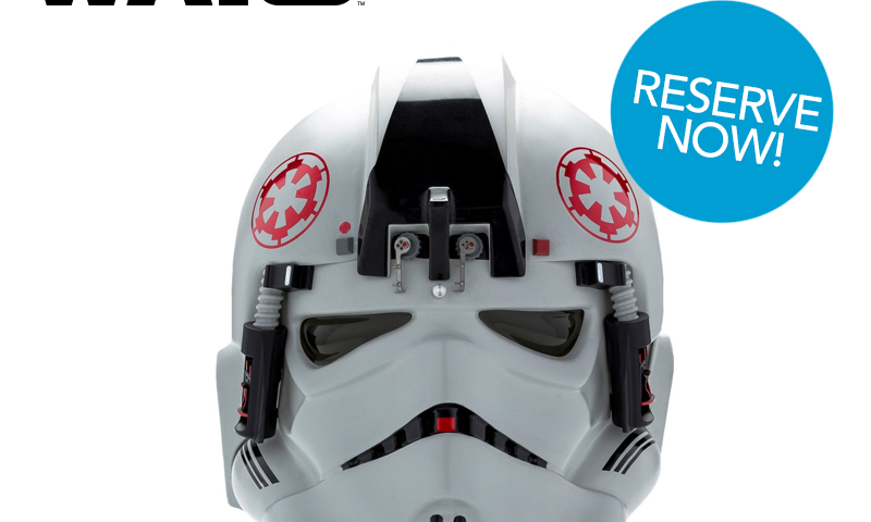 Star Wars AT-AT Helmet Order Reservations Now Open at Anovos
