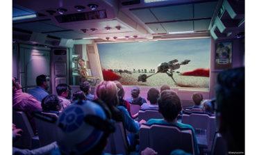 First Look at Disney's New Star Tours Attraction 'Starspeeder Flight Through Crait'