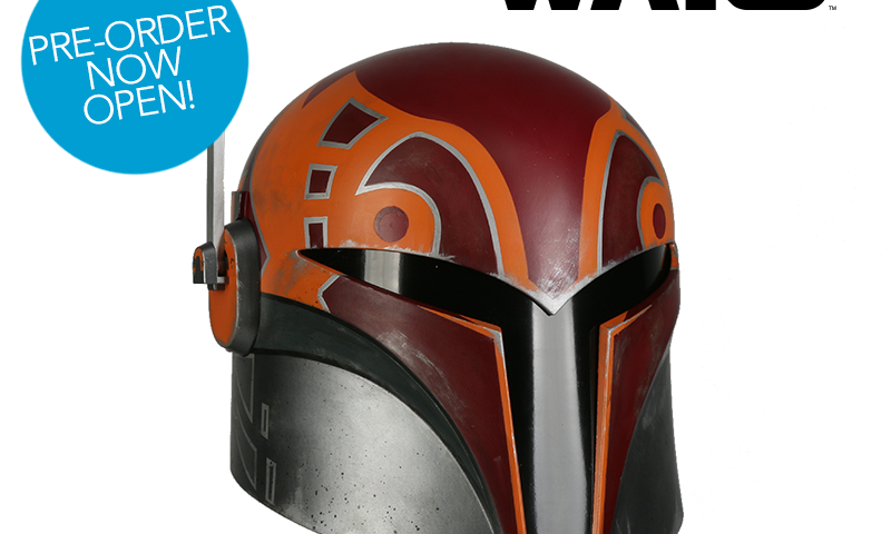 Star Wars Rebels — Sabine Wren Wearable Replica Helmet Available for Pre-Order from Anovos
