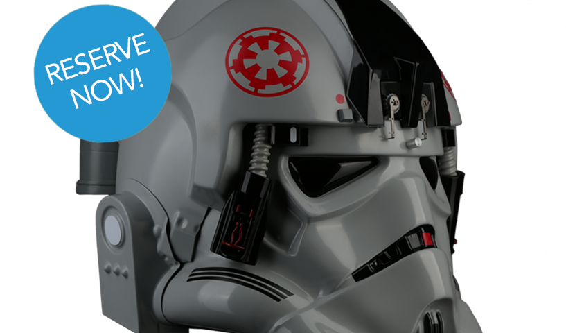 Star Wars AT-AT Driver Helmets from Anovos Limited to 150 Reservations; Reserve Now!