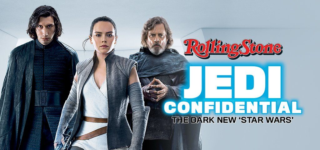 Rolling Stone Features 'Star Wars: The Last Jedi'