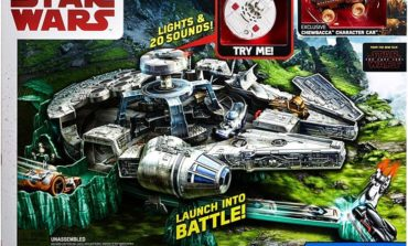 Giveaway Alert! Enter to Win a Hot Wheels Millennium Falcon Track Set from Mattel and Coffee With Kenobi!