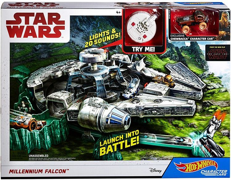 giveaway alert enter to win a hot wheels millennium falcon track set from mattel and coffee. Black Bedroom Furniture Sets. Home Design Ideas