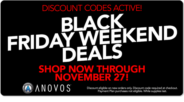 Black Friday Weekend Deals from Anovos!