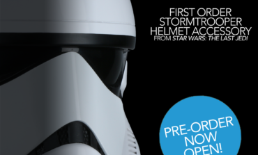 Star Wars Black Friday Reveal from Anovos —  First Order Stormtrooper Helmet from 'The Last Jedi'