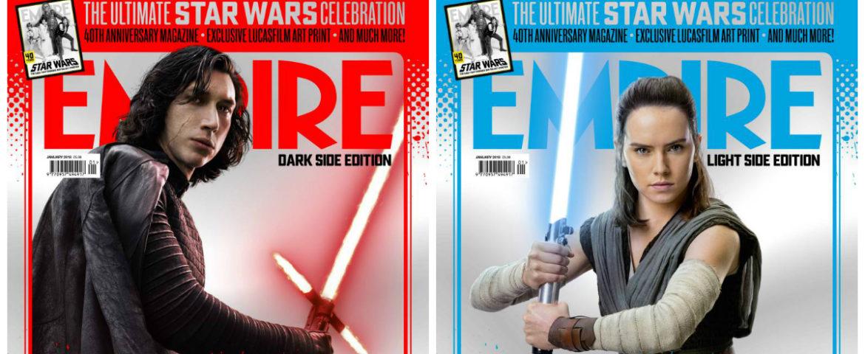 Empire Reveals Exclusive 'Star Wars: The Last Jedi' Covers