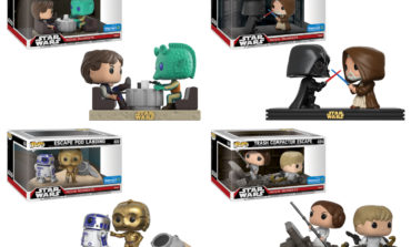 Walmart Launches Four Exclusive Funko Star Wars Movie Moments
