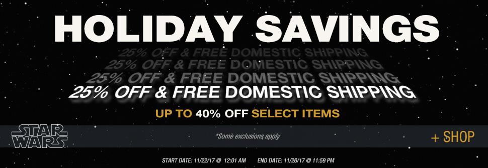 Star Wars Authentics Black Friday Holiday Deals Start Today!