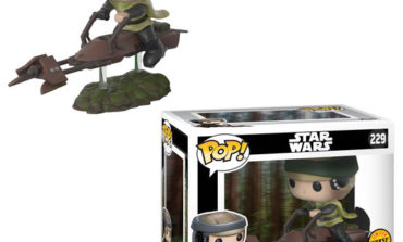 Coming Soon from Funko -- Kylo Ren Mug and Luke and Leia Speeder Bike Pops!