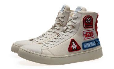 The Latest Release in Po-Zu Footwear's Star Wars Line -- Resistance Badge Sneakers!