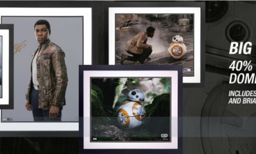 Count Down to 'Star Wars: The Last Jedi' with 40% off Select Items from Star Wars Authentics!