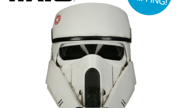 Star Wars Flash Sale — Save $100.00 OFF the AT-ACT Driver Helmet from Anovos! TODAY ONLY!