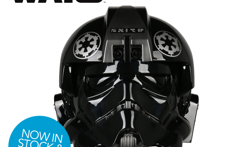 Star Wars Lt. Oxixo TIE Fighter Pilot Helmets Now In-Stock and Shipping from Anovos