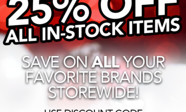 End of Year Sale! 25% Off All In-Stock Items at Anovos!