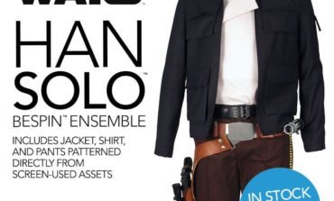 Star Wars 'Bespin' Han Solo Ensembles & Accessories In Stock and Shipping from Anovos