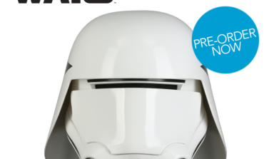 'Star Wars: The Last Jedi' First Order Snowtrooper Helmet Available for Pre-Order from Anovos