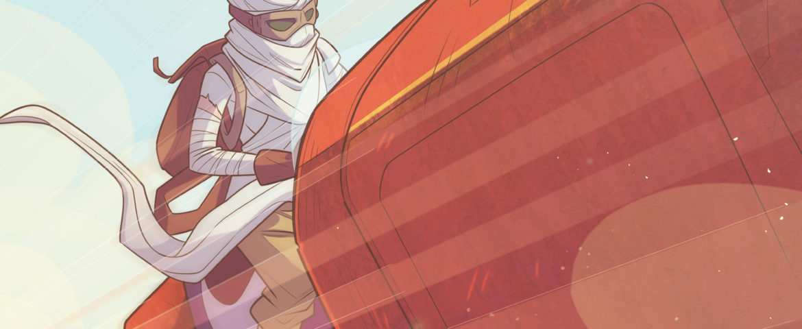 IDW Star Wars Comics Review: Star Wars: Forces of Destiny — Rey