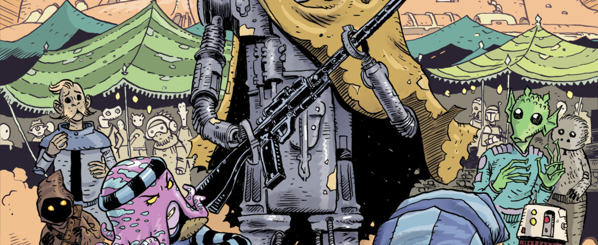 IDW Publishing Star Wars Comics Coming in April: Luke, Leia and Some Sarkans; IG-88 and C-3PO
