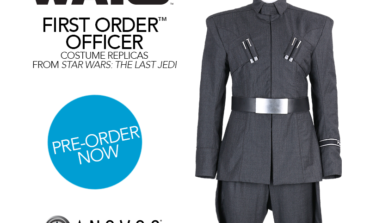 'Star Wars: The Last Jedi' First Order Officer Uniform Available for Pre-Order from Anovos