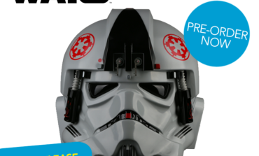 Star Wars AT-AT Pilot Helmet Now Offered as Build-it-Yourself Kit from Anovos
