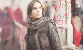 New Felicity Jones Autographs Available from Star Wars Authentics
