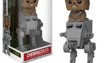 Funko Announces Pop! Deluxe Chewbacca with AT-ST
