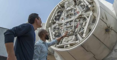First Look at Star Wars Galaxy's Edge Millennium Falcon