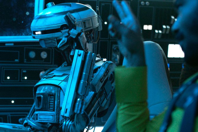 Solo: A Star Wars Story's Director and Writers Talk to Entertainment Weekly About New Droid L3-37
