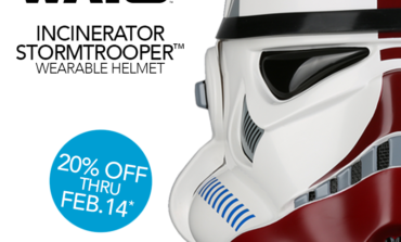 Special Valentine's Themed 'Star Wars' Incinerator Stormtrooper Helmet Offer from Anovos