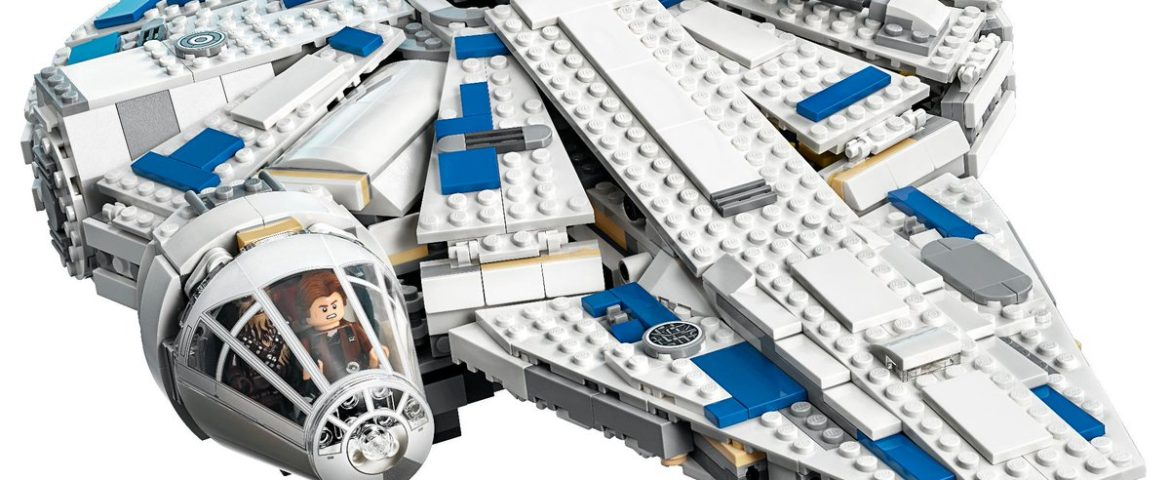 LEGO Announces 'Solo: A Star Wars Story' Millennium Falcon and Minifigs