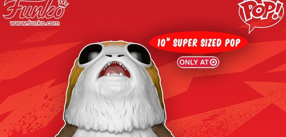 Funko Announces Target Exclusive 10-inch Porg Pop!