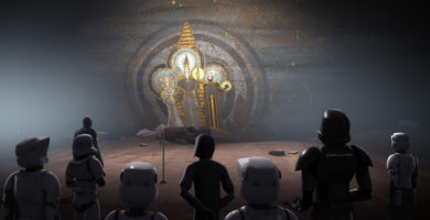 """Star Wars Rebels: New Images and Video for """"Wolves and a Door"""" and """"A World Between Worlds"""""""