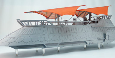 Take a Tour of Jabba's Sail Barge in Newly Released Images from Hasbro