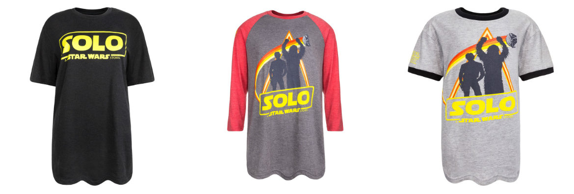 'Solo: A Star Wars Story' Force for Change Tees Available at Disney Parks