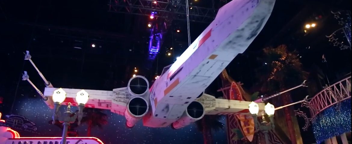 Assembling the Fan-Built Star Wars Vehicles on Display at Disneyland Paris