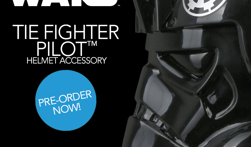 Star Wars TIE Fighter Pilot Helmet Available for Pre-Order from Anovos