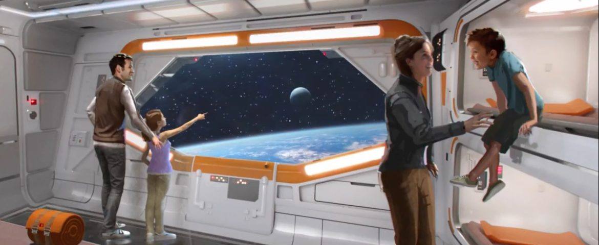 New Visuals for Disney World's Star Wars Hotel; First Look at Poe Dameron's X-wing