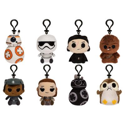 Funko Reveals 'Star Wars: The Last Jedi' Mystery Mini Keychain Plushies