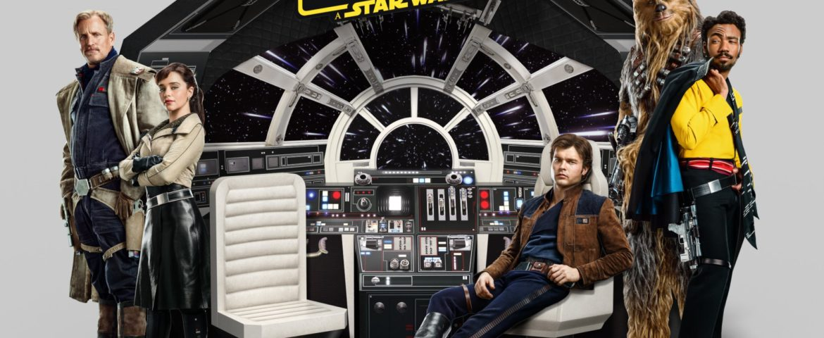 Get a Closer Look at the Theater Display for 'Solo: A Star Wars Story'
