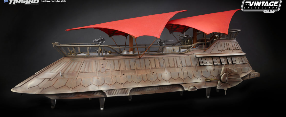 Almost There! Jabba's Sail Barge from Hasbro Close to Becoming a Reality