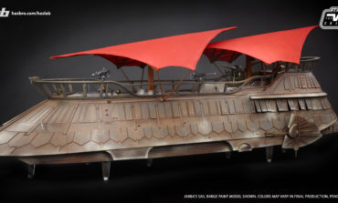 New HasLab Reveals! Full Deco Images of Jabba's Sail Barge