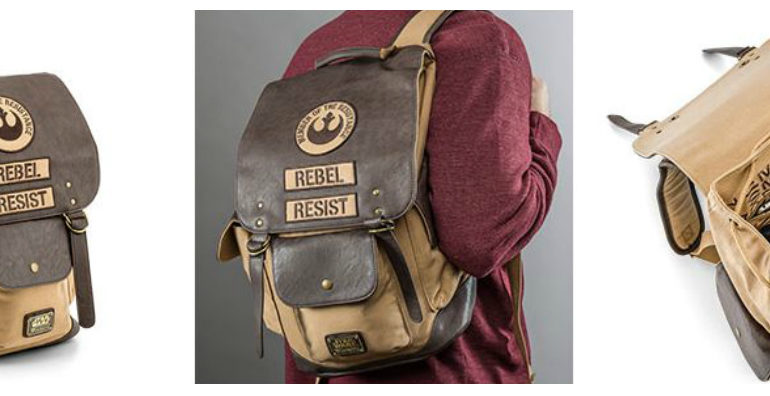 Core Worlds Couture  Loungefly Rebel Resist Backpack Review - Coffee With  Kenobi e66e8c2a9916e