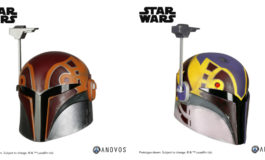 Choose Between Two Star Wars Rebels Sabine Wren Helmet Accessories from Anovos