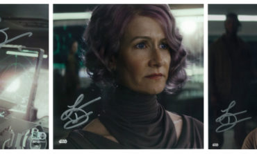 New Laura Dern Autographs Available Now from Star Wars Authentics