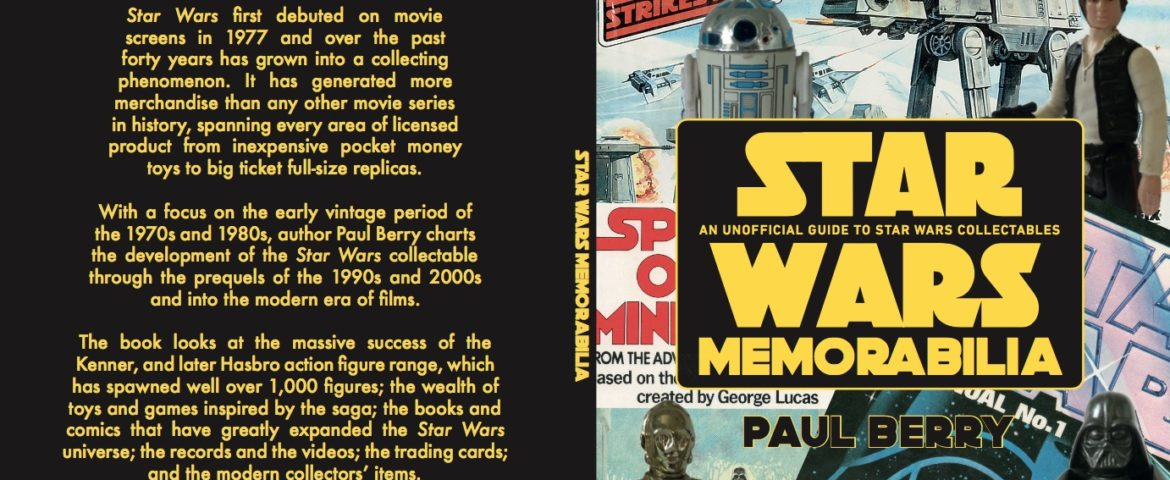 Book Review: 'Star Wars Memorabilia: An Unofficial Guide to Star Wars Collectables' by Paul Berry