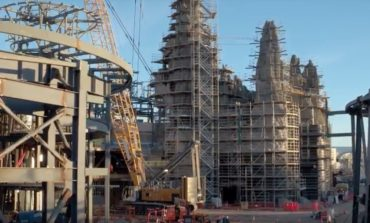 Visit the Star Wars: Galaxy's Edge Construction Site in this Flyover Video