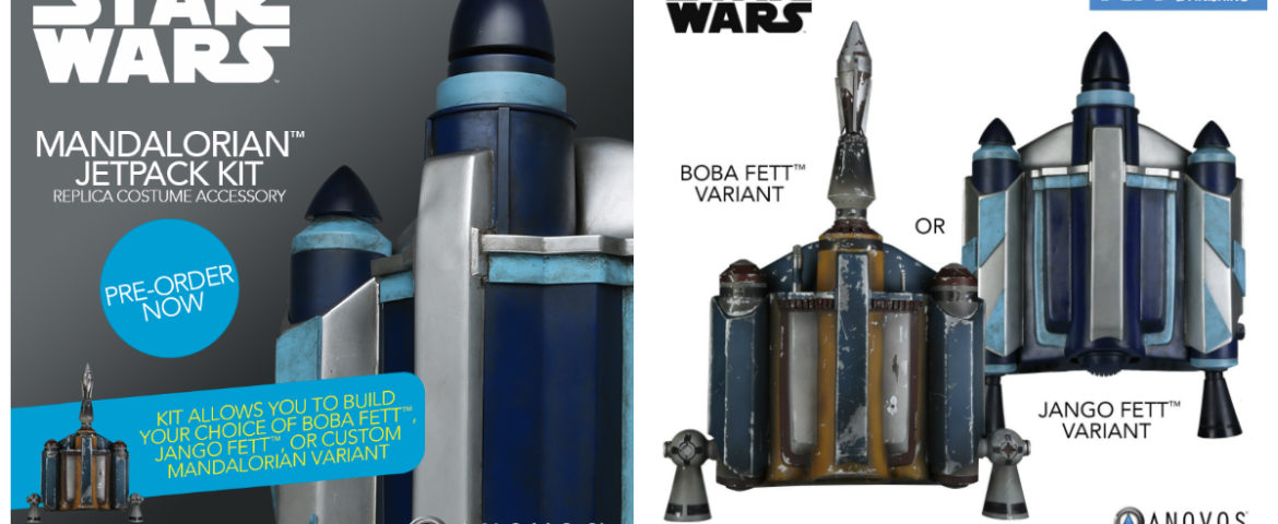 Star Wars | Make Your Own Mandalorian with the Jetpack Kit from Anovos