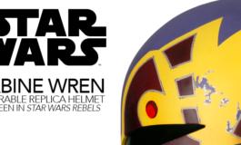 Star Wars Rebels Season Four Sabine Wren Helmet Available for Pre-Order from Anovos