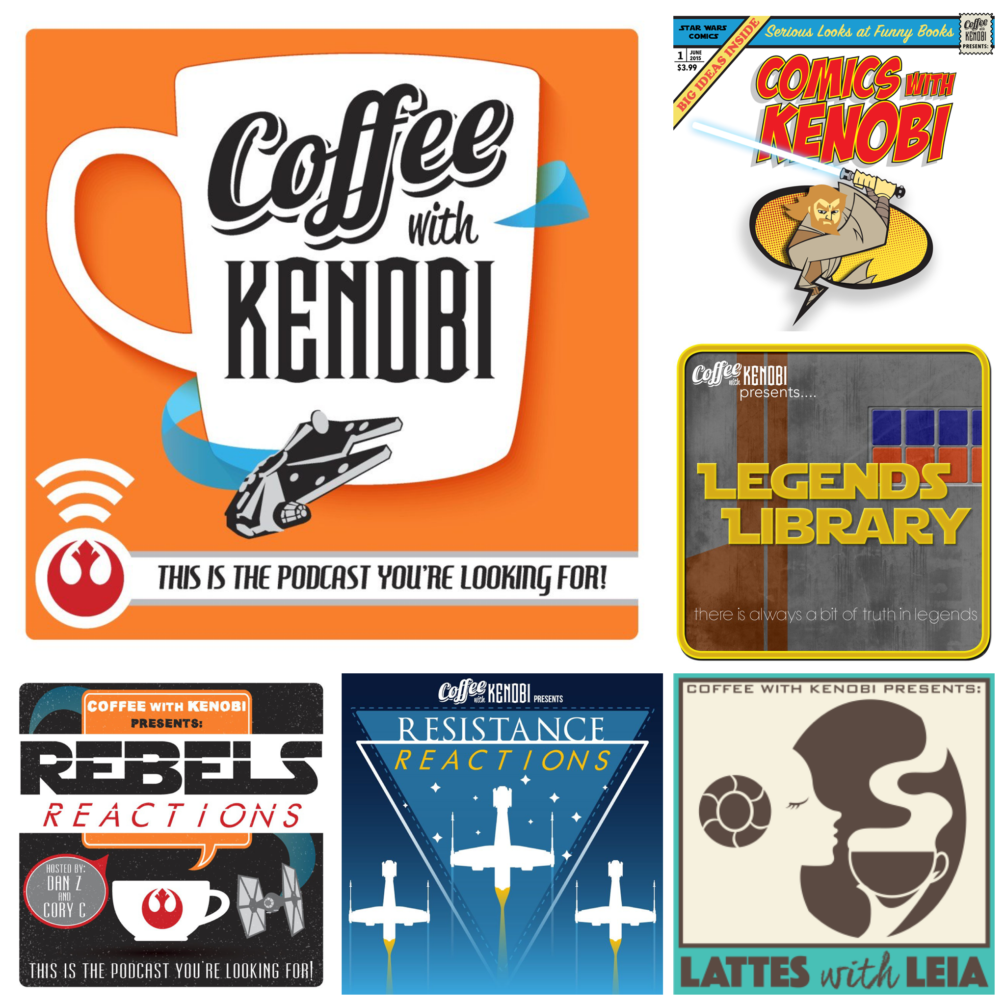 Subscribe to our Coffee With Kenobi Network